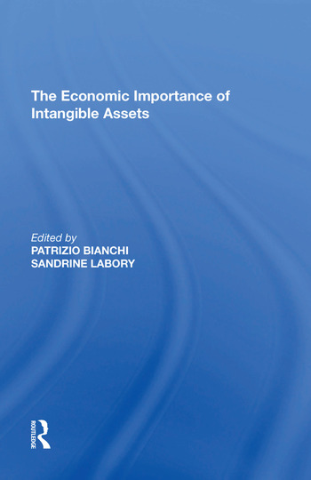 The Economic Importance of Intangible Assets book cover
