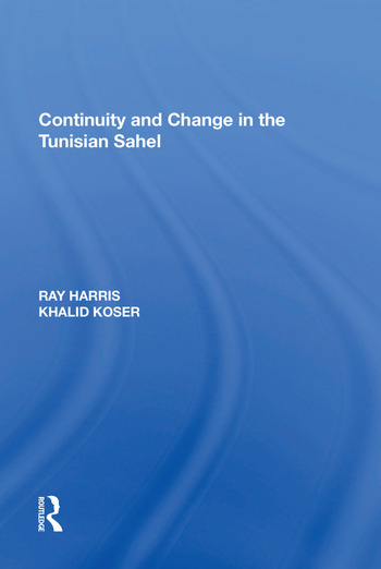 Continuity and Change in the Tunisian Sahel book cover