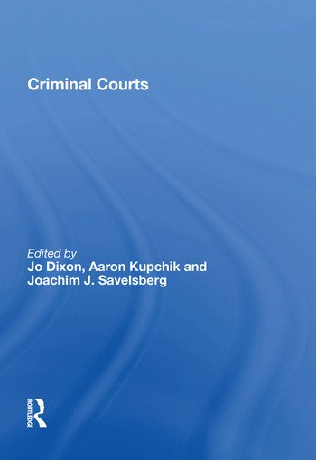 Criminal Courts book cover