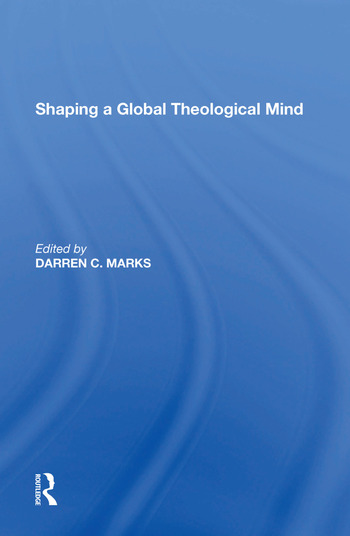 Shaping a Global Theological Mind book cover