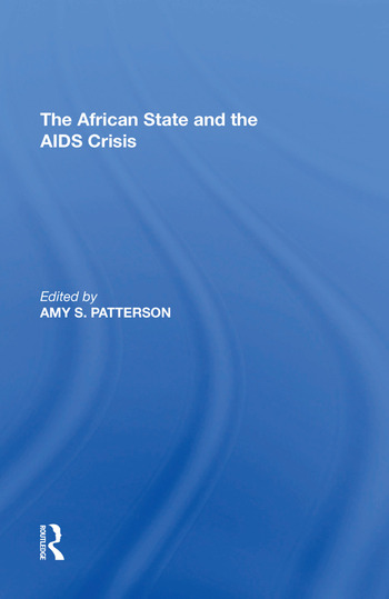 The African State and the AIDS Crisis book cover