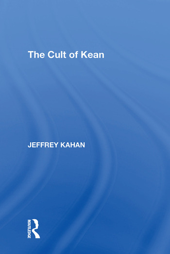 The Cult of Kean book cover