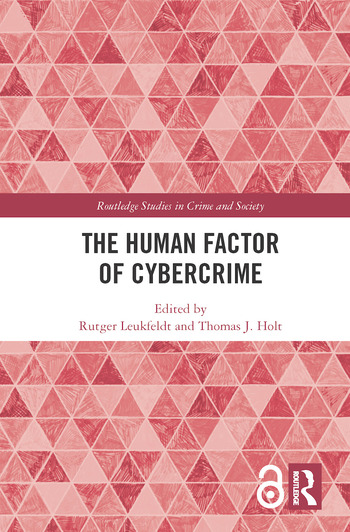 The Human Factor of Cybercrime book cover