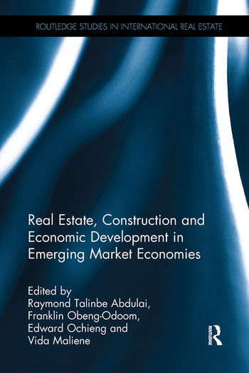 Real Estate, Construction and Economic Development in Emerging Market Economies book cover