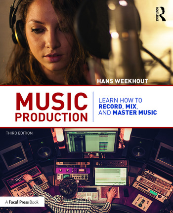 Music Production Learn How to Record, Mix, and Master Music book cover