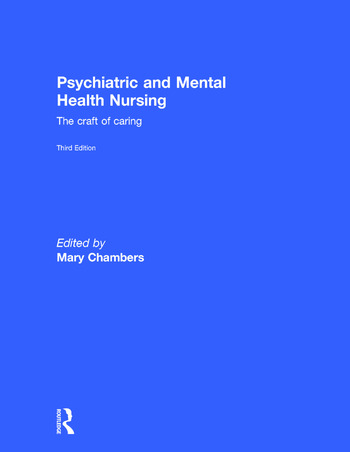 Psychiatric and Mental Health Nursing The craft of caring book cover