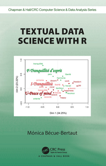 Textual Statistics with R book cover