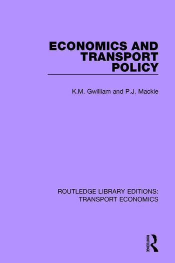 Economics and Transport Policy book cover