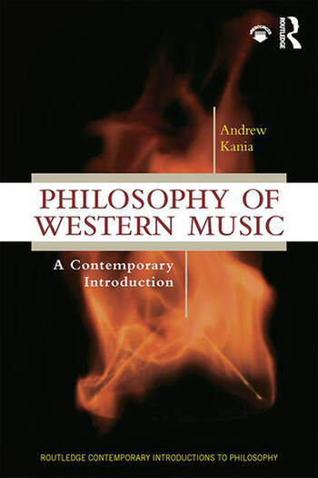 Philosophy of Western Music A Contemporary Introduction book cover