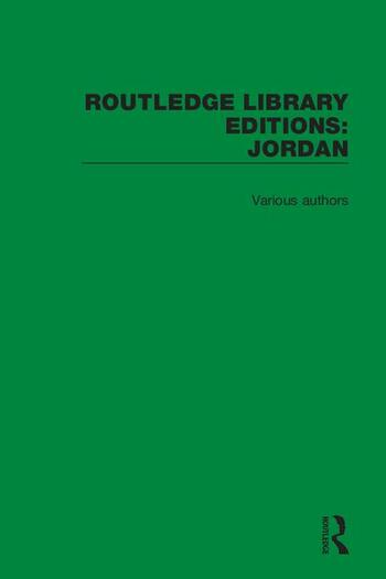 Routledge Library Editions: Jordan book cover