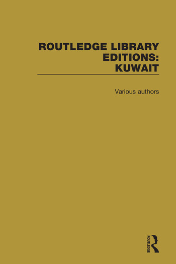 Routledge Library Editions: Kuwait book cover