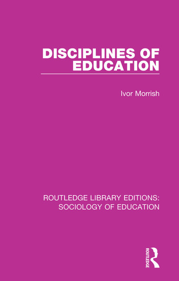 Disciplines of Education book cover