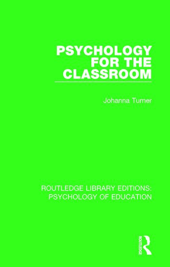 Psychology for the Classroom book cover