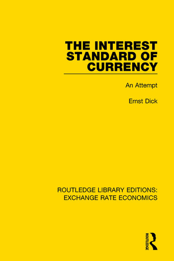 The Interest Standard of Currency An Attempt book cover