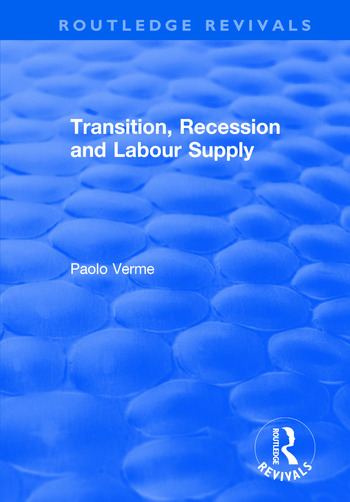 Transition, Recession and Labour Supply book cover