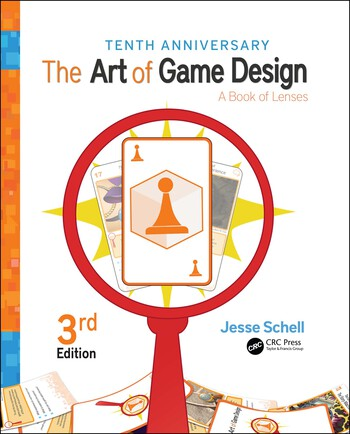 The Art of Game Design A Book of Lenses, Third Edition book cover
