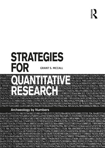 Strategies for Quantitative Research Archaeology by Numbers book cover