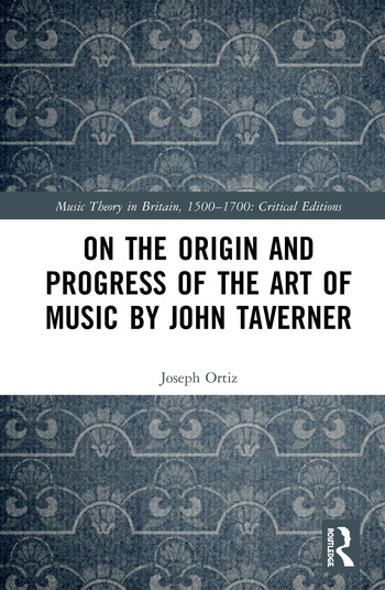 On the Origin and Progress of the Art of Music by John Taverner book cover