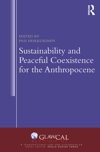 Sustainability and Peaceful Coexistence for the Anthropocene book cover