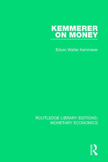 Kemmerer on Money book cover