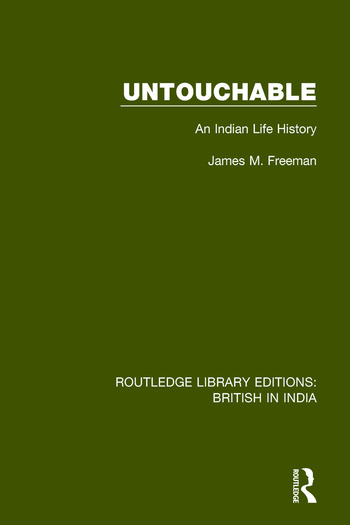 Untouchable An Indian Life History book cover