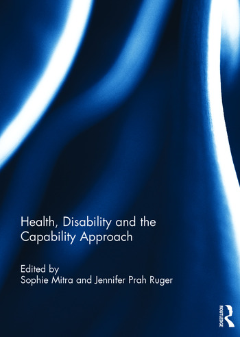 Health, Disability and the Capability Approach book cover