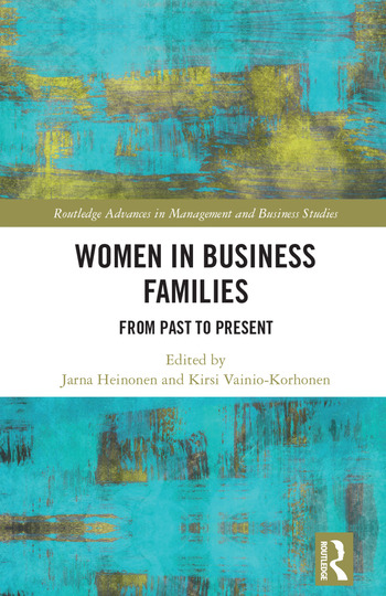 Women in Business Families From Past to Present book cover