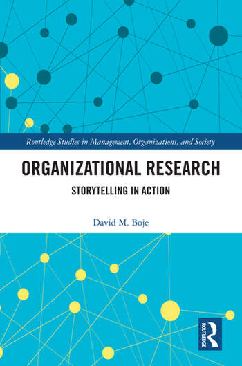 Organizational Research Storytelling in Action book cover
