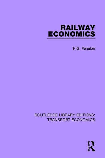 Railway Economics book cover