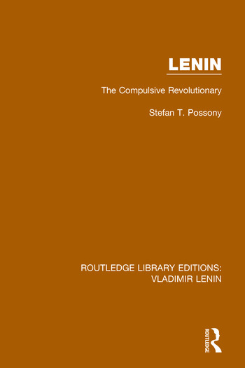 Lenin The Compulsive Revolutionary book cover