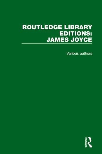 Routledge Library Editions: James Joyce book cover