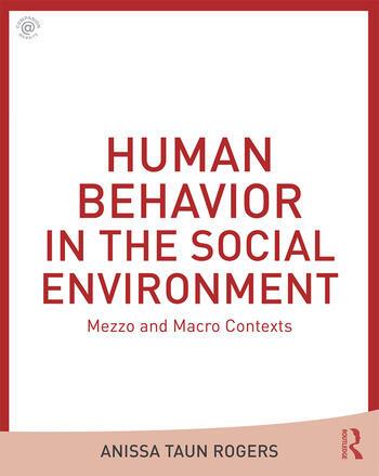 Human Behavior in the Social Environment Mezzo and Macro Contexts book cover