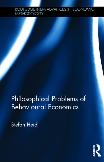 Philosophical Problems of Behavioural Economics book cover