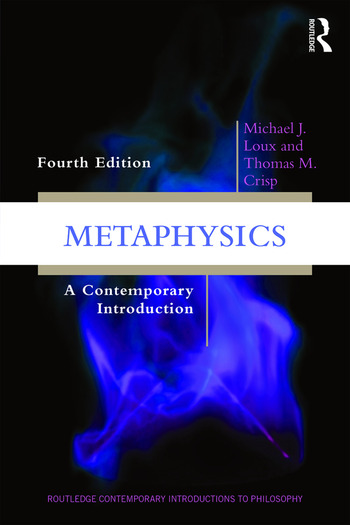 Metaphysics A Contemporary Introduction book cover