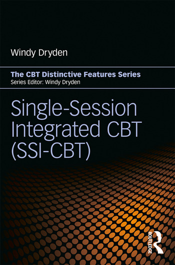 Single-Session Integrated CBT (SSI-CBT) Distinctive features book cover
