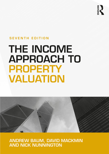 The Income Approach to Property Valuation book cover