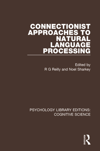 Connectionist Approaches to Natural Language Processing book cover