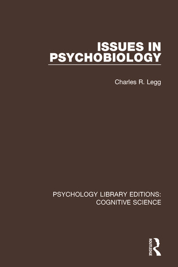 Issues in Psychobiology book cover