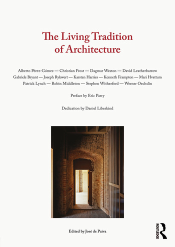 The Living Tradition of Architecture book cover