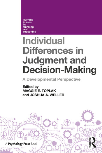 Individual Differences in Judgement and Decision-Making A Developmental Perspective book cover