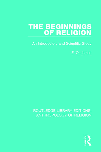 The Beginnings of Religion An introductory and Scientific Study book cover