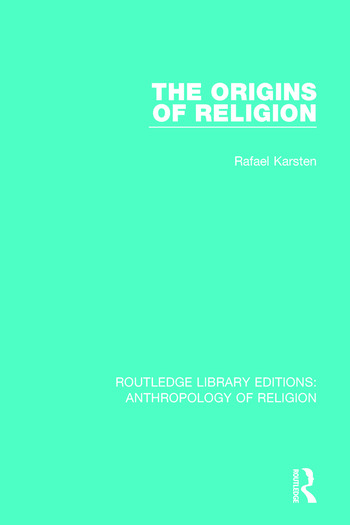 The Origins of Religion book cover