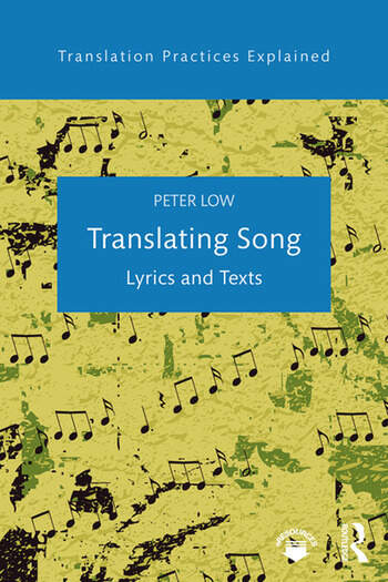 Translating Song Lyrics and Texts book cover