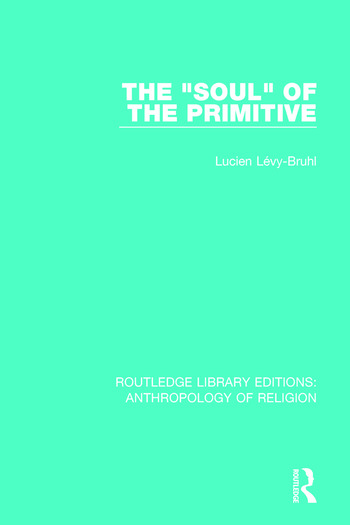 The 'Soul' of the Primitive book cover
