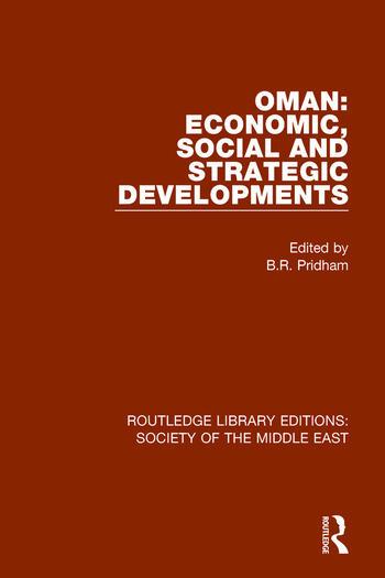 Oman: Economic, Social and Strategic Developments book cover