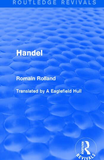 Handel book cover