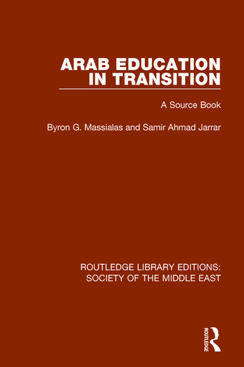Arab Education in Transition A Source Book book cover