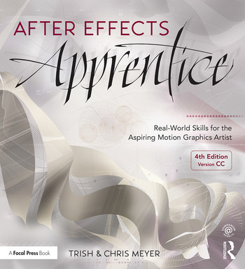 After Effects Apprentice Real-World Skills for the Aspiring Motion Graphics Artist book cover