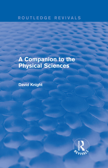 A Companion to the Physical Sciences book cover