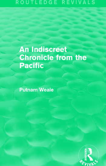 An Indiscreet Chronicle from the Pacific book cover
